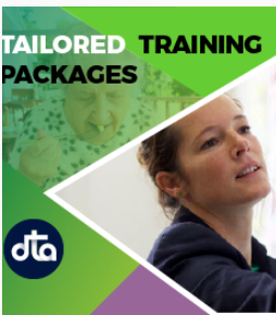 Dementia Training Australia's Tailored Training packages logo