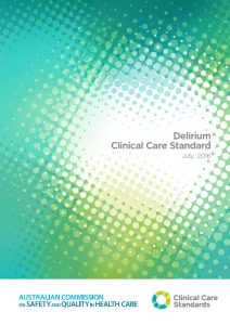 Thumbnail of Delirium Clinical Care Standard
