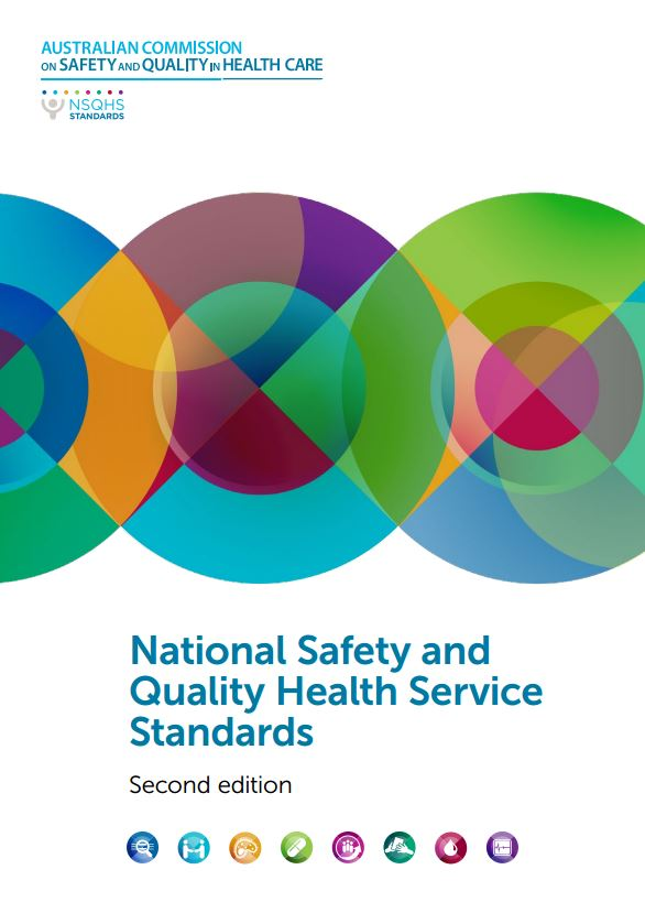 Thumbnail of the front cover of the second edition of theNational Safety and Quality Health Service standards